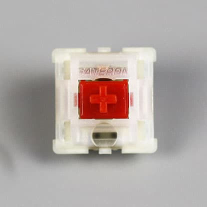 Gateron Milky Red PCB Mount