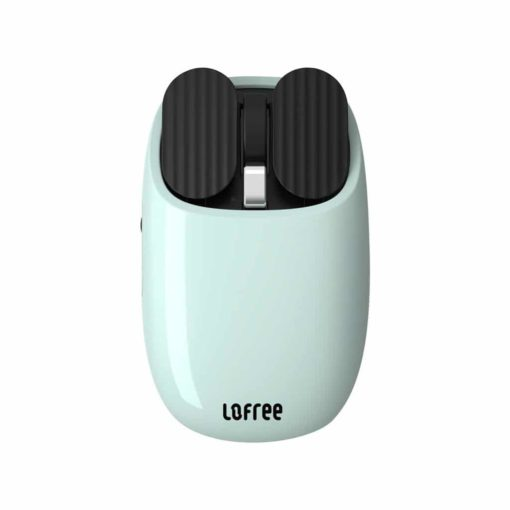 Lofree Maus Wireless Mouse with macro functions Turquoise Blue