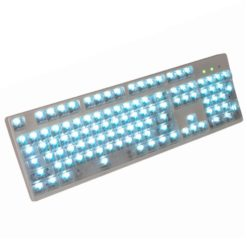 OEM Clear Translucent Keycaps LEDs