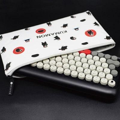 Lofree Dot Kumamon Mechanical Keyboard with bag