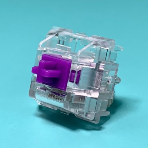Outemu Ice Light Purple Switch Profile