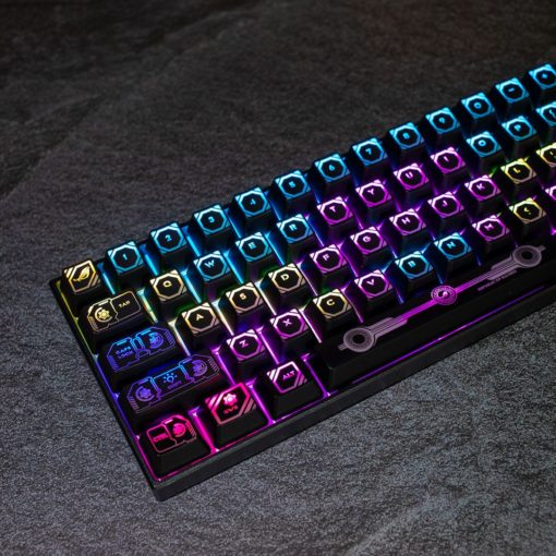 OEM Eye of the Prodigal Keycaps Translucent 108 key