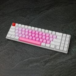 OEM PBT Pinkberry Alpha Keycaps 35 keys