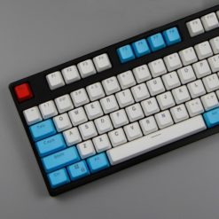 OEM Profile By The Sea PBT Keycaps 104 key set close