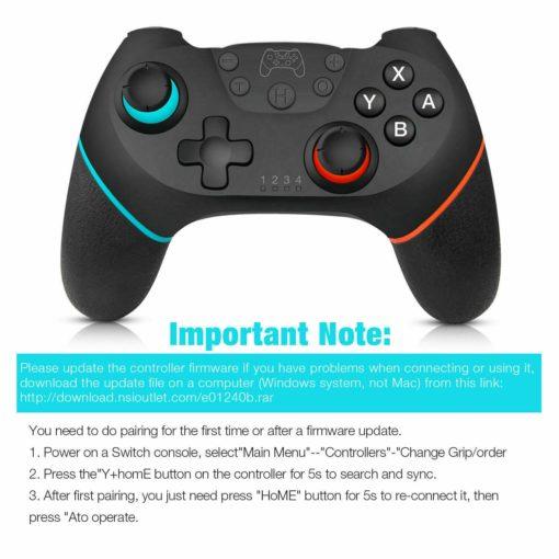 Nintendo Switch Bluetooth Controller 9