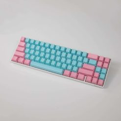 OEM Cotton Candy Blank Keycaps Full
