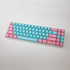OEM Cotton Candy Top Legend Keycaps Full
