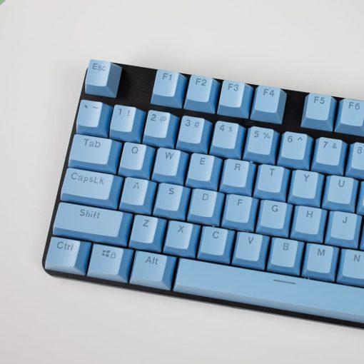 OEM Light Blue Mixable Keycaps 104 Keycap Set Main