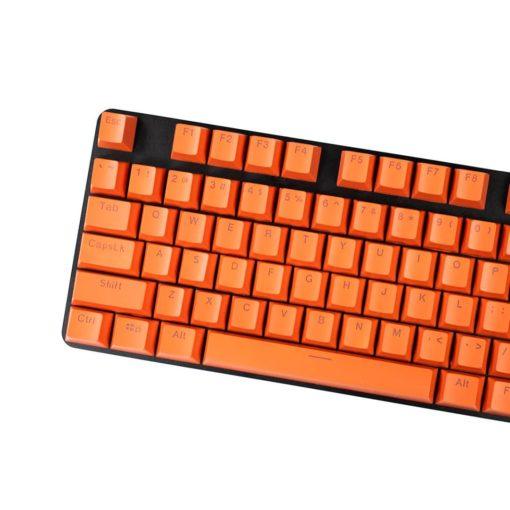 OEM Orange Mixable Keycaps 104 Keycap Set Main