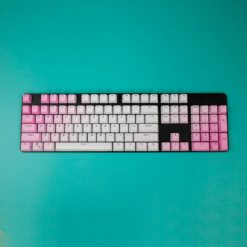 OEM Pink Gradient PBT Keycaps Full