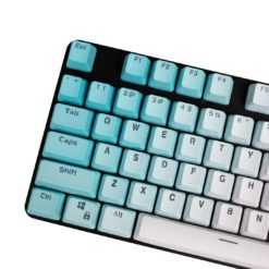 OEM Profile Blue Gradient PBT Keycaps Main