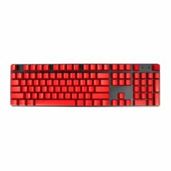 OEM Red Mixable Keycaps 104 Keycap Set Full