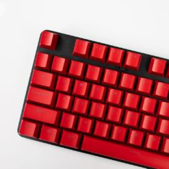OEM Red Mixable Keycaps 104 Keycap Set Main