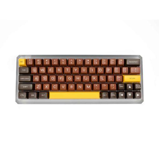 Maxkey SA Chocolate Keycaps front