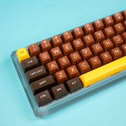 Maxkey SA Chocolate Keycaps main