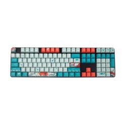 OEM Coral Sea Dye Sublimated Keycaps