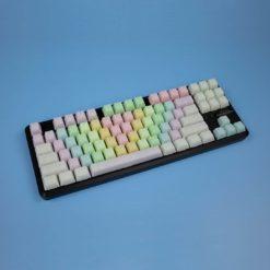 OEM Happy Rainbow POM keycaps