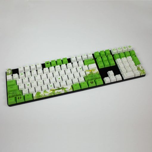 OEM Dyesub Through The Meadow Keycaps 108 key set