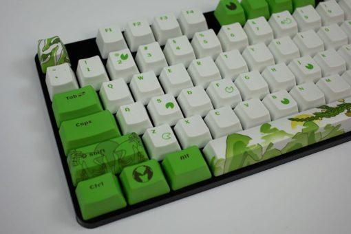 OEM Dyesub Through The Meadow Keycaps 108 key set Left
