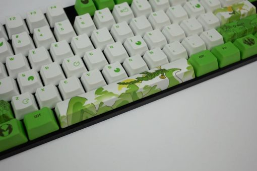 OEM Dyesub Through The Meadow Keycaps 108 key set Middle