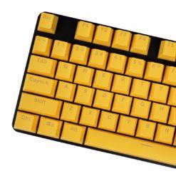 OEM Yellow Mixable Keycaps 104 Keycap Set Main
