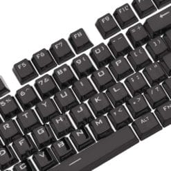 Electroplated Black Keycaps