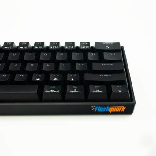 Flashquark Horizon Z 60 percent mechanical keyboard black front